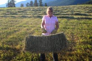 haying 15 bucking balessm