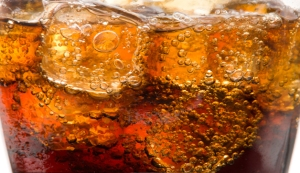 ice in soda