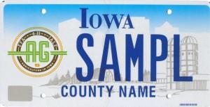 IALF FFA 4H license plate 10.1.15
