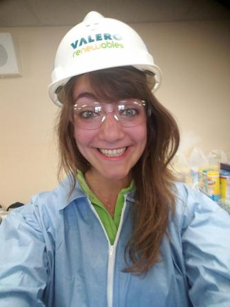 Our last workshop took us to an ethanol refinery. How stylish we were!