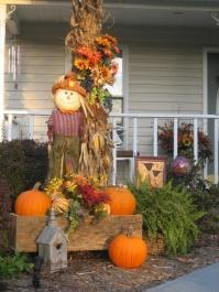 porch scarecrow