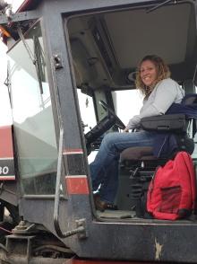 Emily, Tractor/Grain Cart Specialist