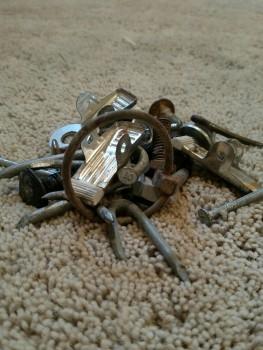 iron pile