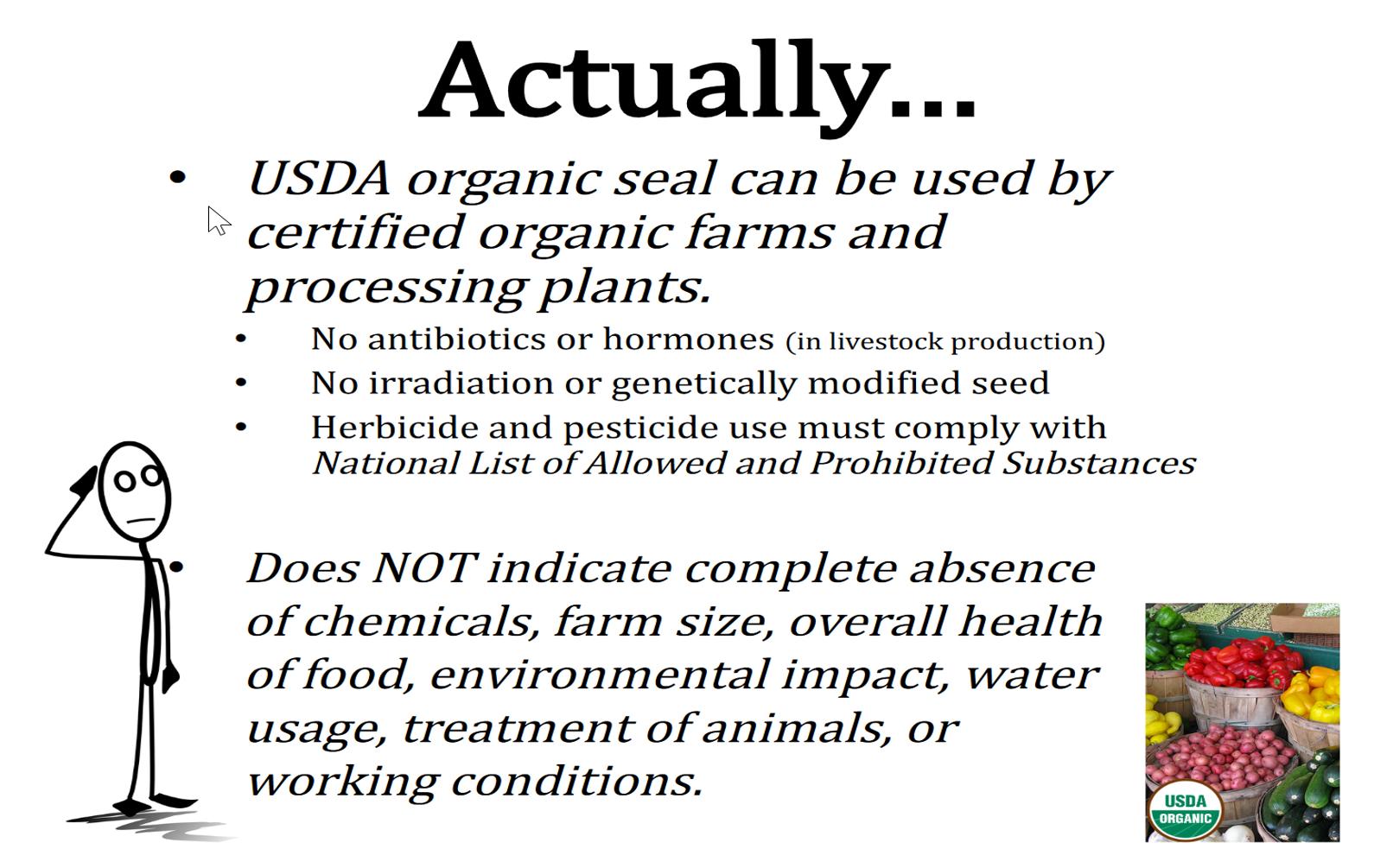 actually organic