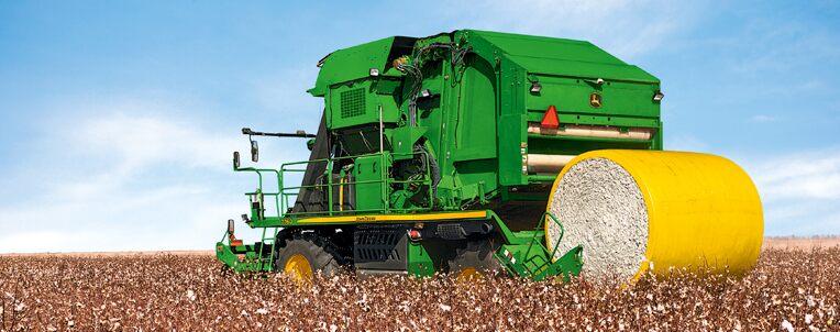 John Deere cotton
