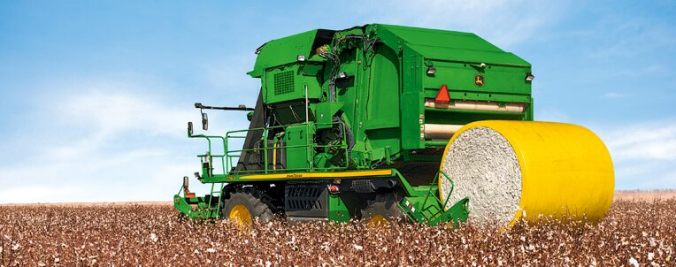 John Deere cotton