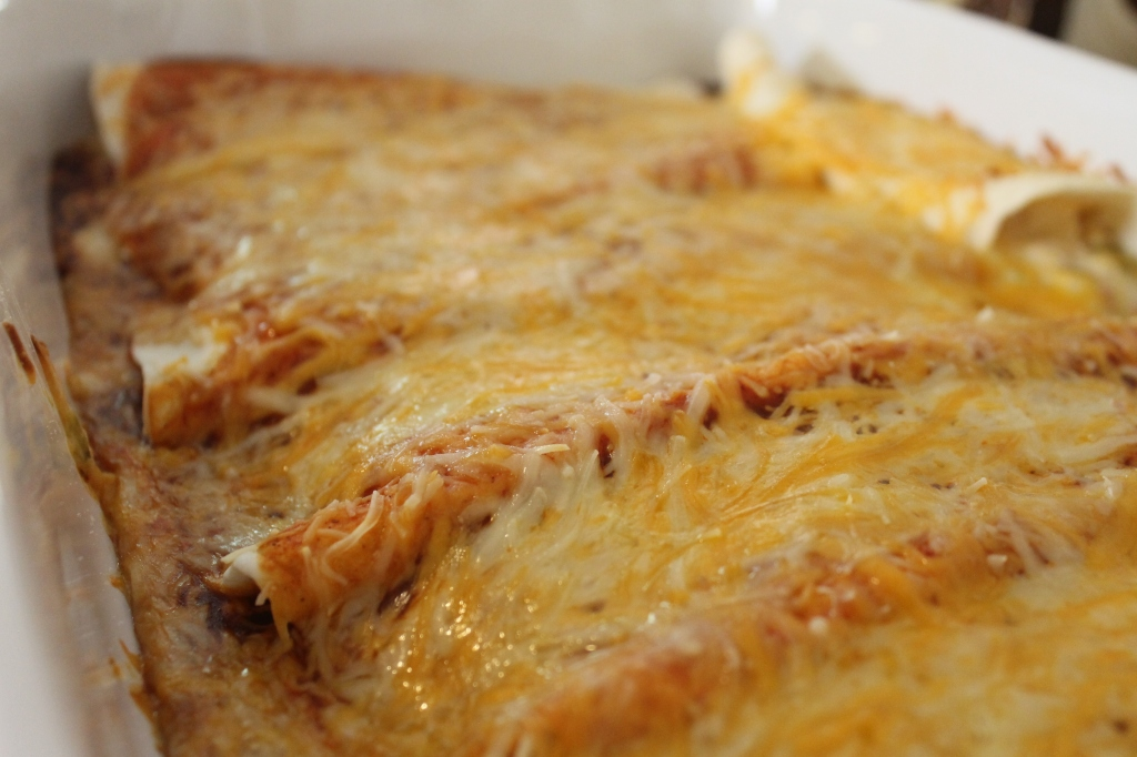 Cheesy Chicken Enchiladas – From Farm to Fork